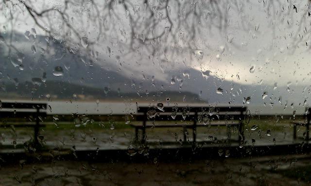 Raining in Ioannina