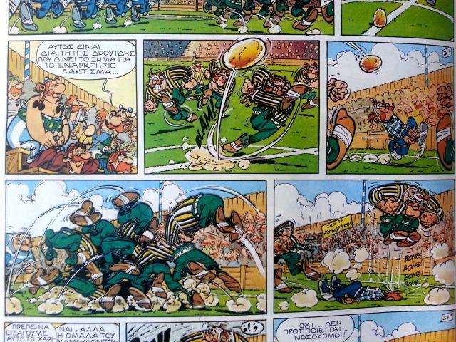 Asterix comics