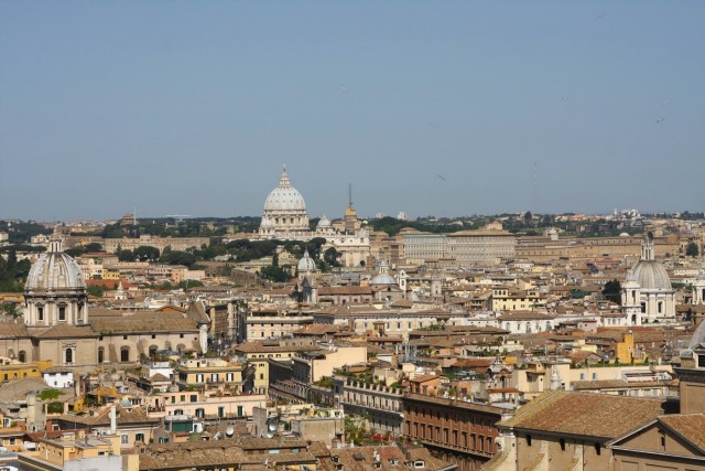 Batican city, View from the Vittoriano
