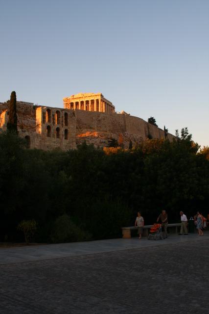 Acropolis Parthenon Dionese Areopagus street