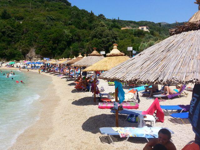 Sarakiniko beach, parga