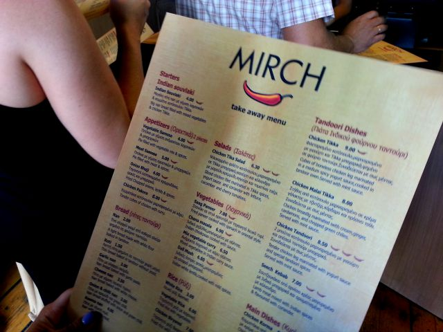 Mirch, indian food