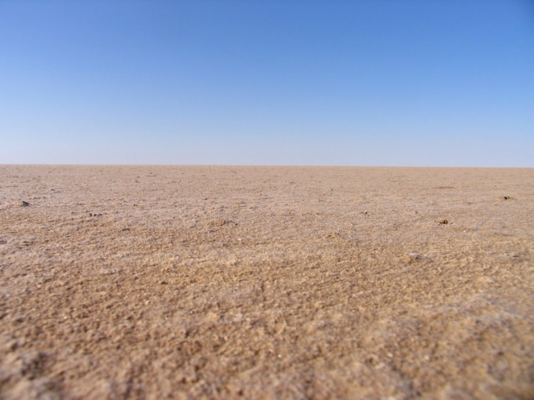 Chott el Djerid, Salt lake