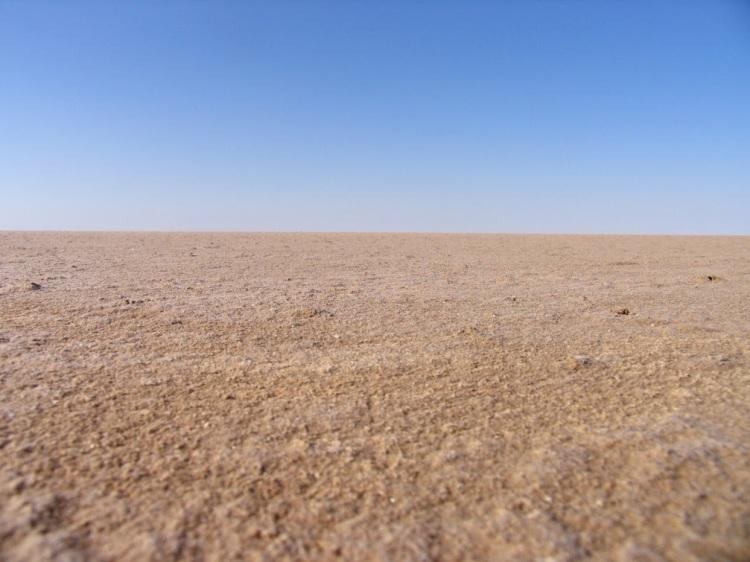 Chott el Djerid, Salt lake