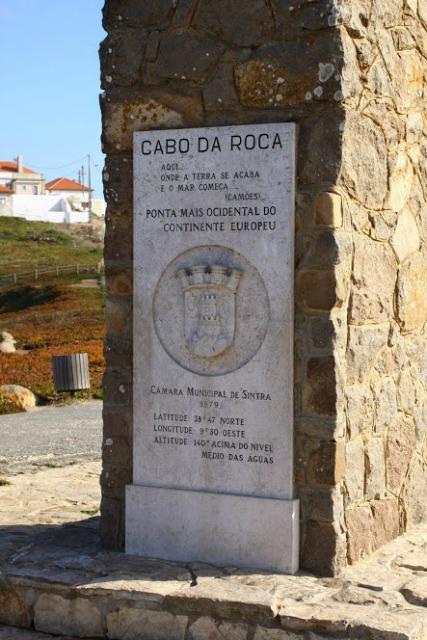 Monument cabo da roca