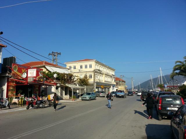 Lefkada, street