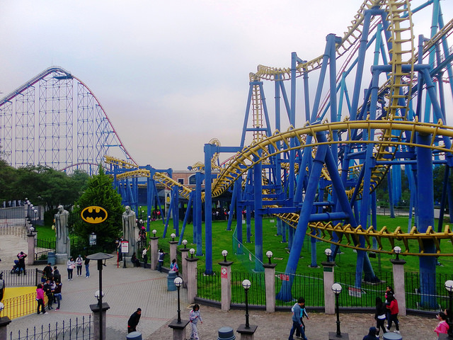 Six flags Park, Mexico