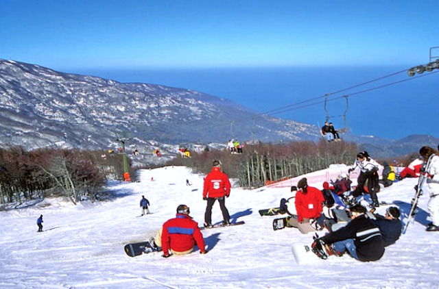 Pelio ski resort