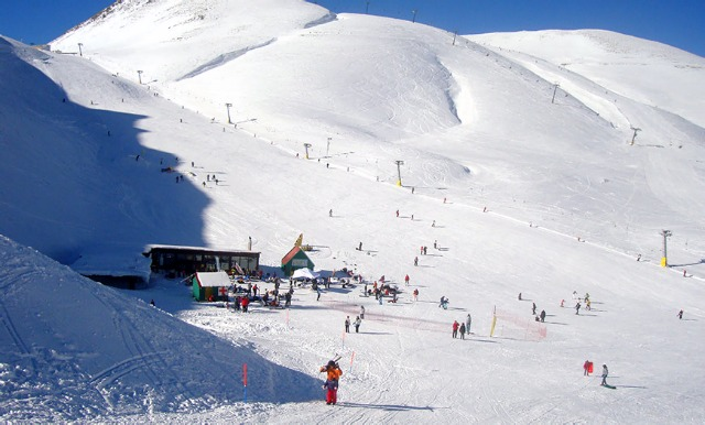 Karpenisi ski resort