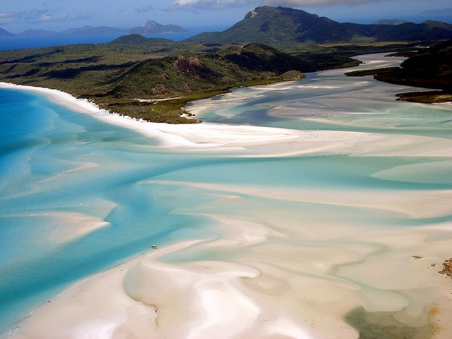 Αυστραλία, Whitsunday Islands, Whitehaven beach