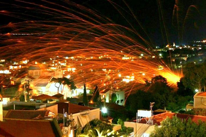 rouketopolemos, Chios