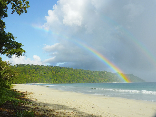 Radhanagar Beach, Havelock Island, Ινδία