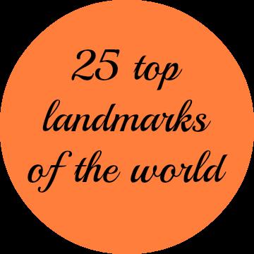 25 top landmarks