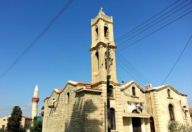 Limassol, tzami, ekklisia